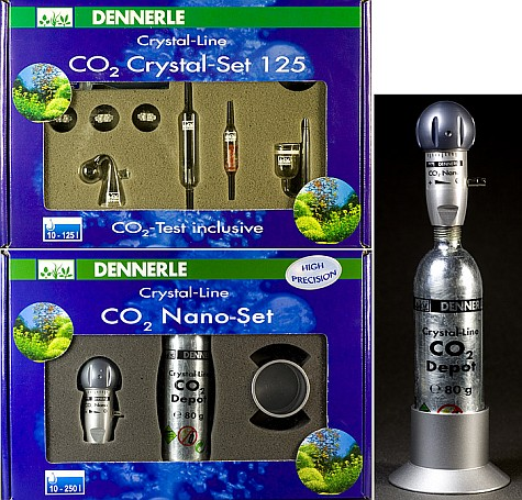 Dennerle CO2 Crystal Set 125 250