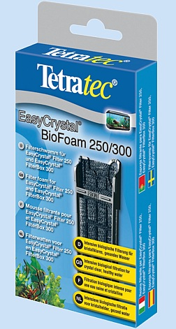 tetra easycrystal filter biofoam 250 300 151628. Black Bedroom Furniture Sets. Home Design Ideas