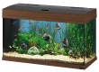Ferplast Dubai Aquarium 125 Liter WALNUSS